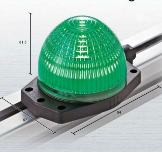 Green LED surface mount